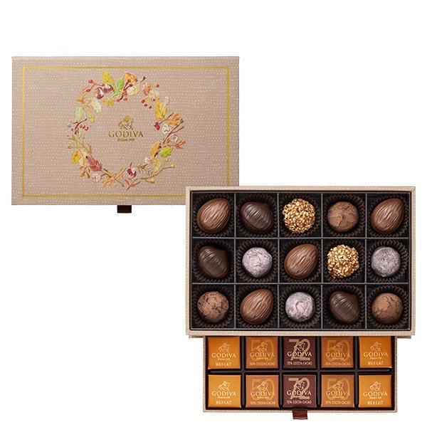 ゴディバの秋チョコレート