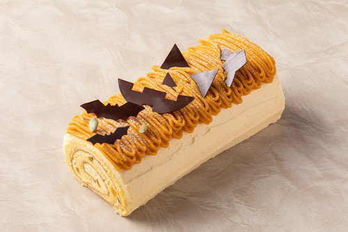 グランド ハイアット 東京のパンプキンロールケーキ