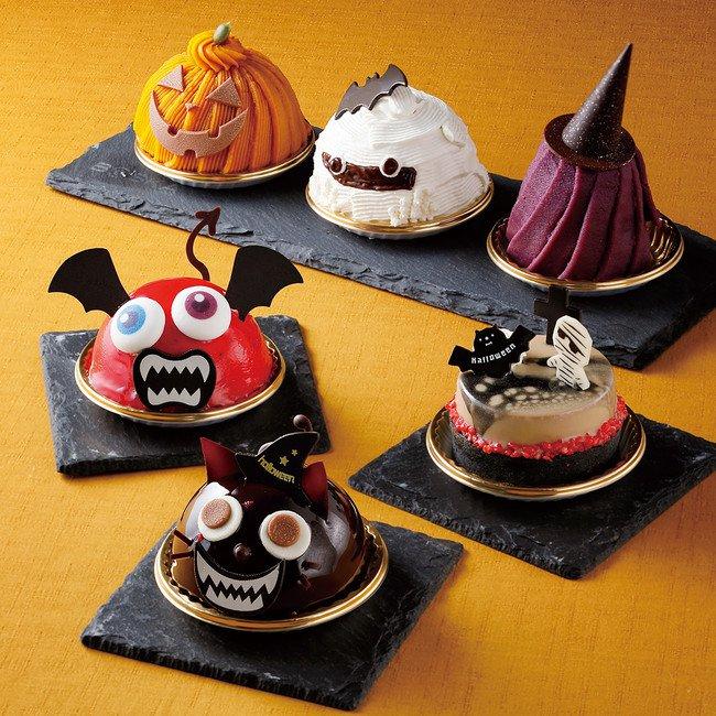 京都ホテルオークラのハロウィーンケーキ