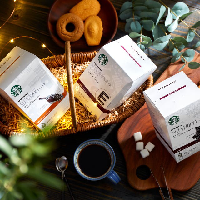 スターバックスのドリップコーヒーギフト