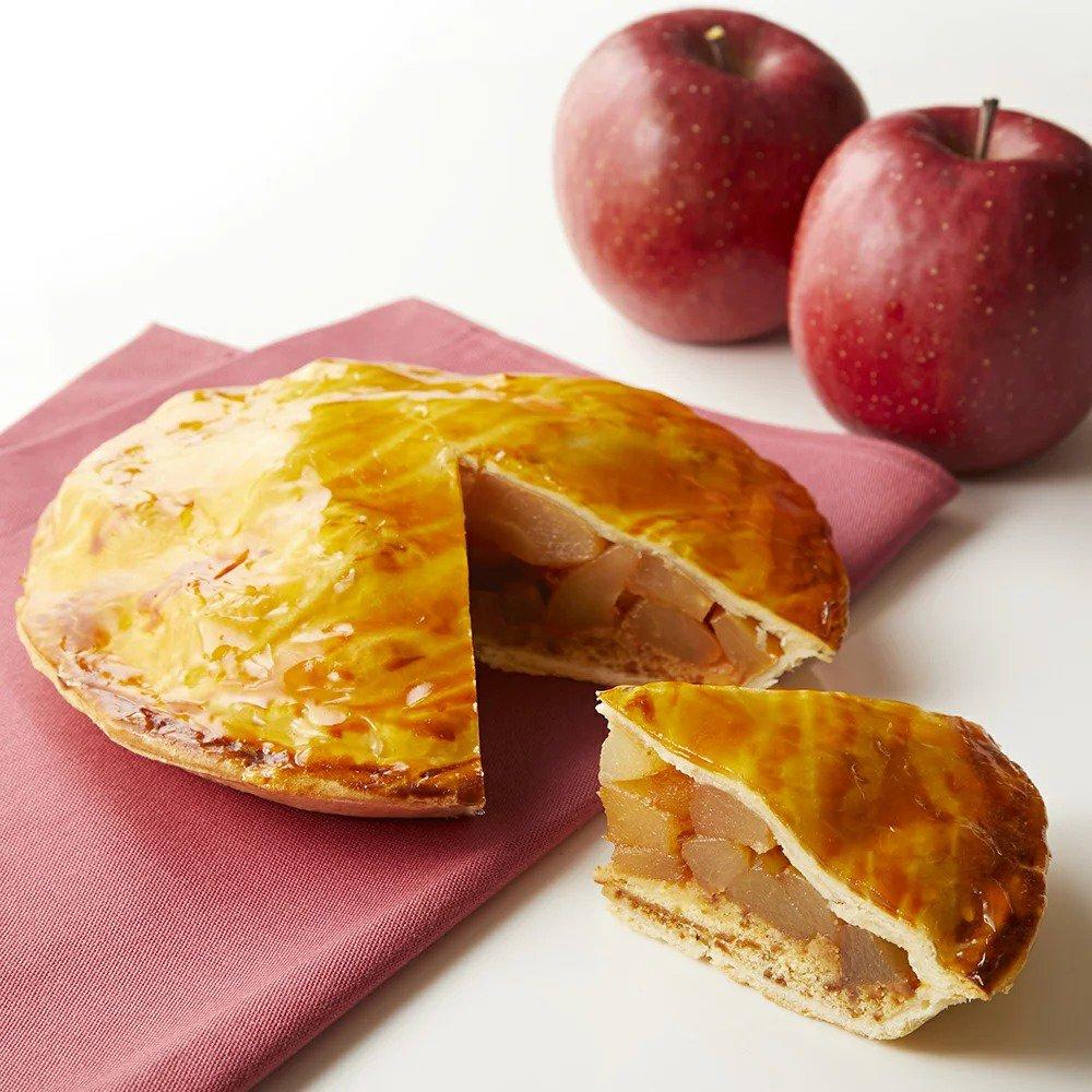 新宿高野のアップルパイ