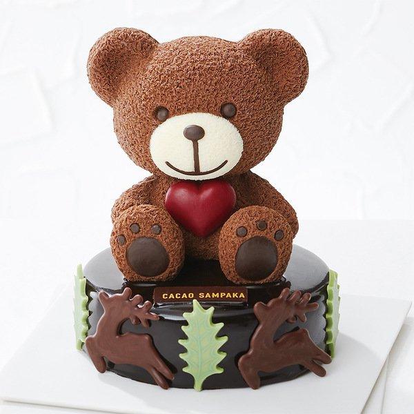 カカオ サンパカ,ベア型ケーキ