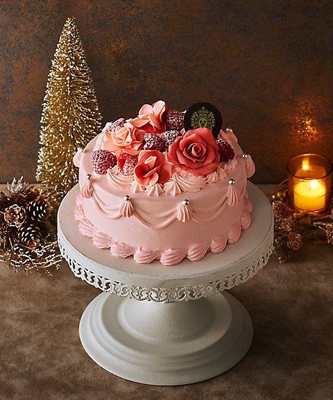 王妃の愛したバラのケーキ