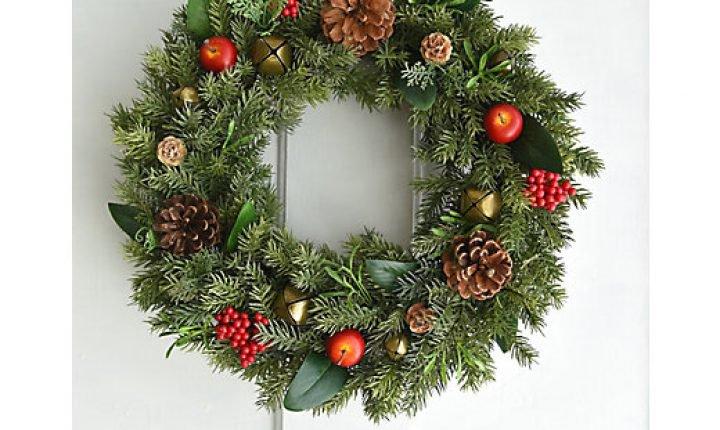 おしゃれなリースで!センスあふれるクリスマスを演出!