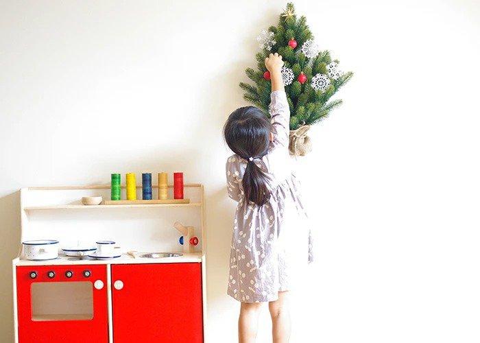 おしゃれな壁掛けツリー