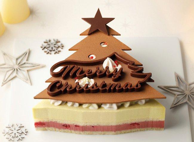バニラビーンズのクリスマスケーキ
