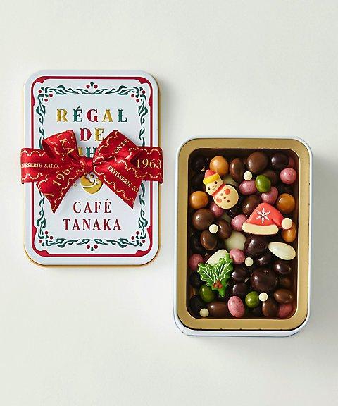 カフェタナカのクリスマス限定缶