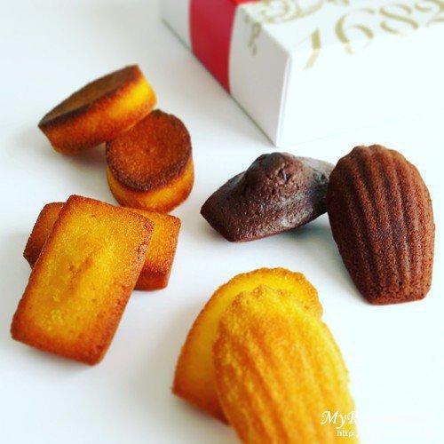 ダロワイヨの焼き菓子のアソート