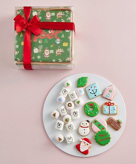 アンファン,クリスマスクッキーBOX