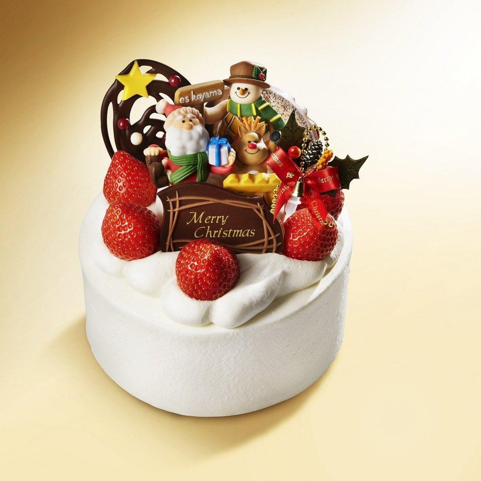 エスコヤマのクリスマスケーキ