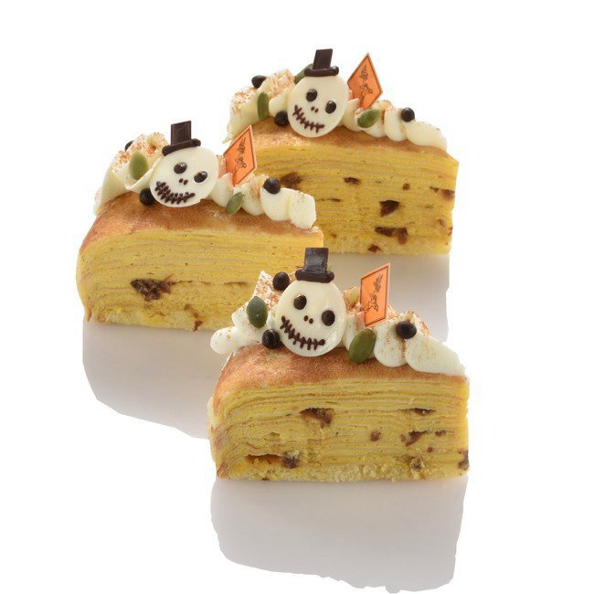 フレデリック・カッセルのハロウィンケーキ