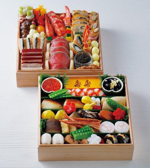 京都ホテルオークラのプレミアム二重おせち料理