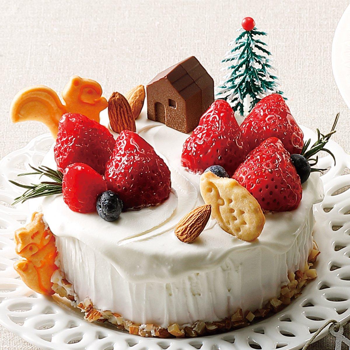 苺のお店 メゾン・ド・フルージュのクリスマスケーキ