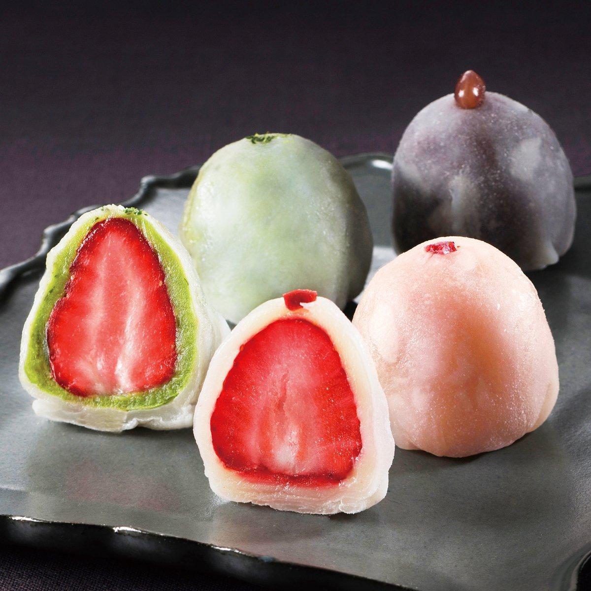 メゾン・ド・フルージュの苺大福のお取り寄せ