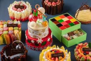 グランド ハイアット 東京のラグジュアリーなクリスマスケーキ