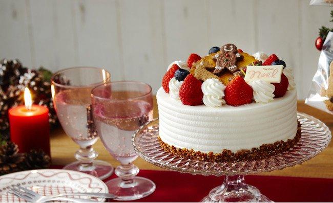ノワ・ドゥ・ブールのクリスマスケーキ