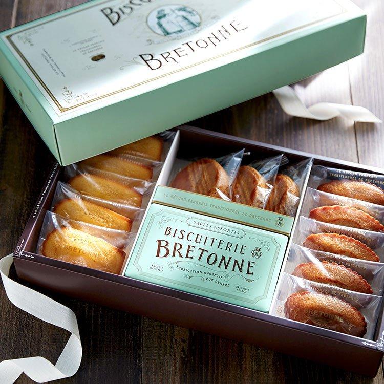 ビスキュイテリエ ブルトンヌ ブルターニュの焼き菓子セット