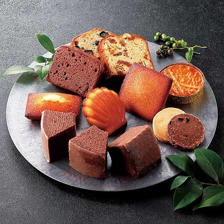 エス コヤマのバームクーヘンと焼き菓子セット