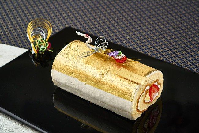 金箔ロールケーキ