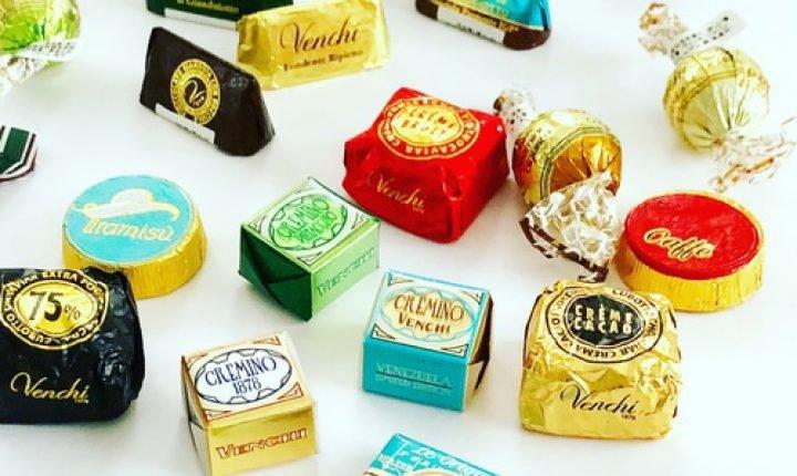 ヴェンキのチョコレート!イタリアの老舗チョコジェラテリア