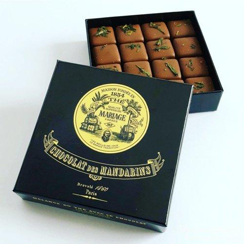 マリアージュ フレールの紅茶のチョコレート