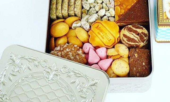 マリベルのクッキーは缶もオシャレ!見た目も味もエレガント