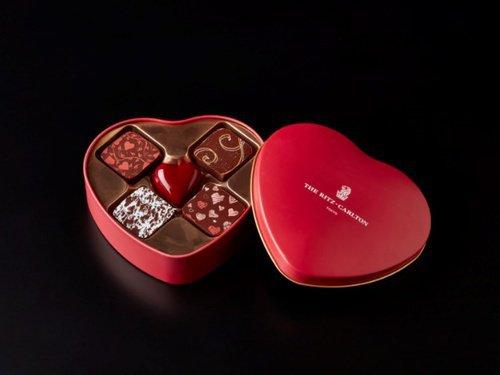 ザ・リッツ・カールトン東京,オリジナルチョコレート ハート型缶入り