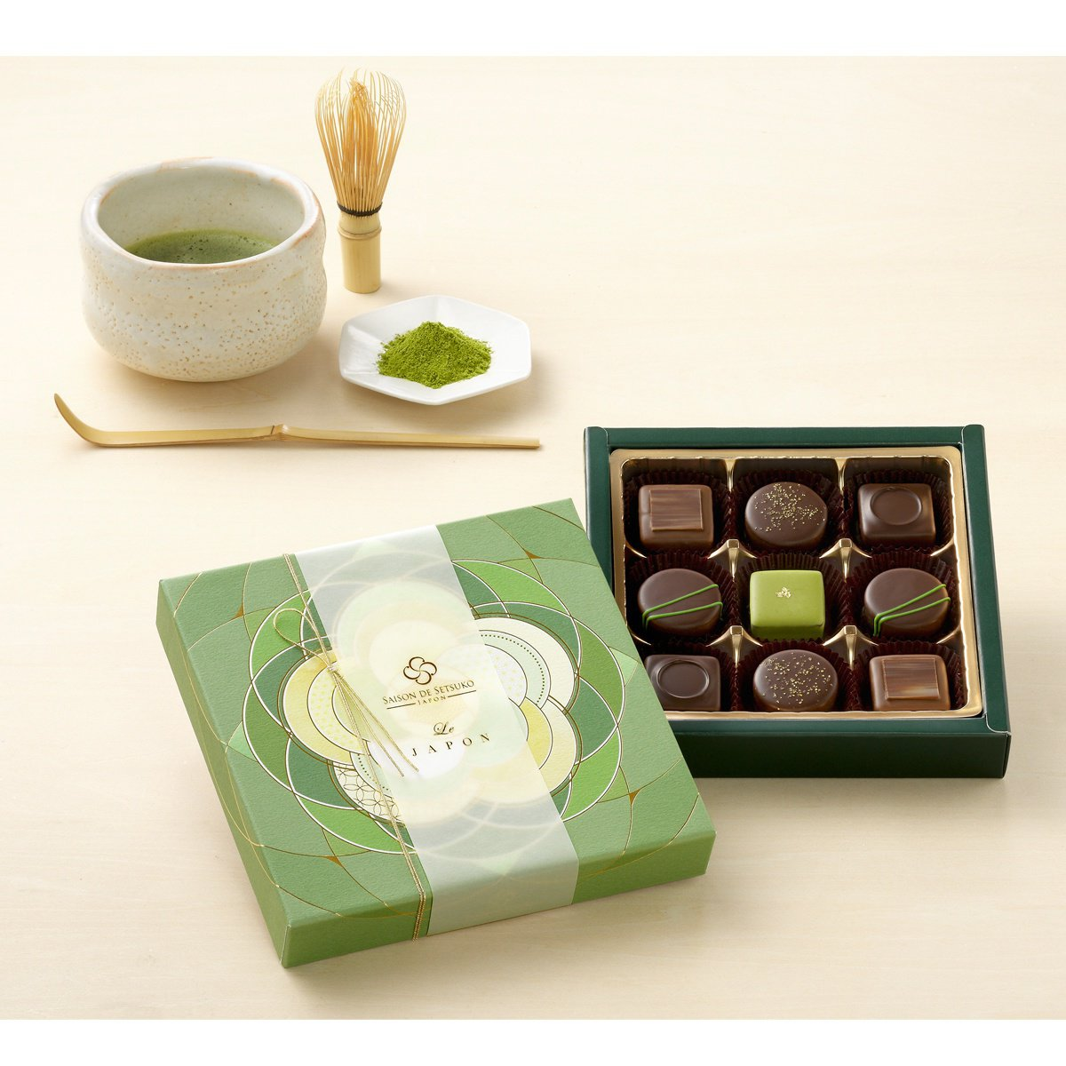 セゾン ド セツコの日本茶のショコラ
