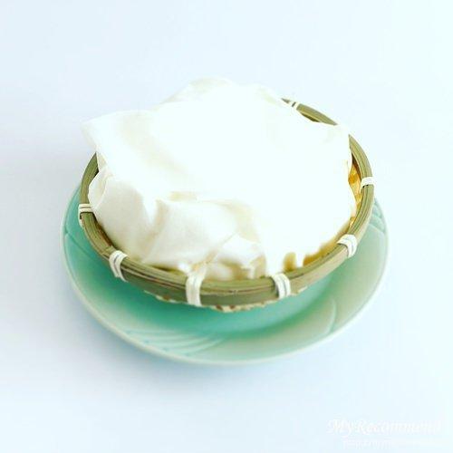 銀のぶどうのチーズケーキ