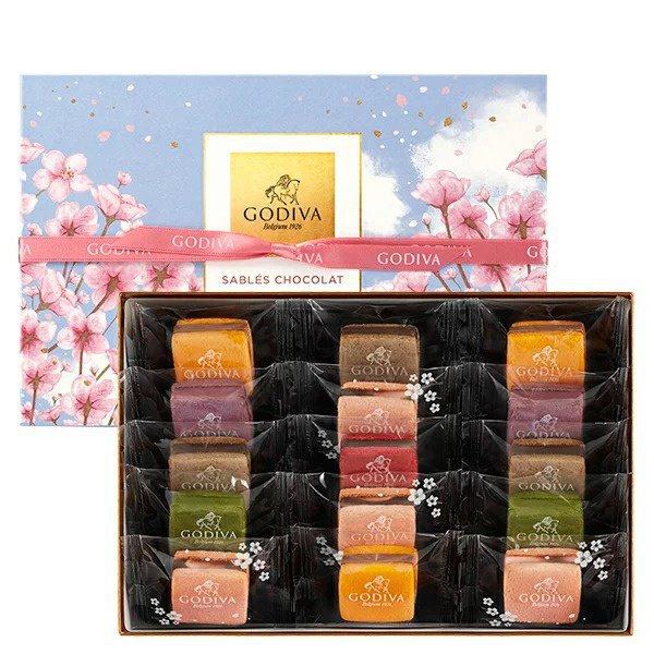 ゴディバ サブレショコラ 桜