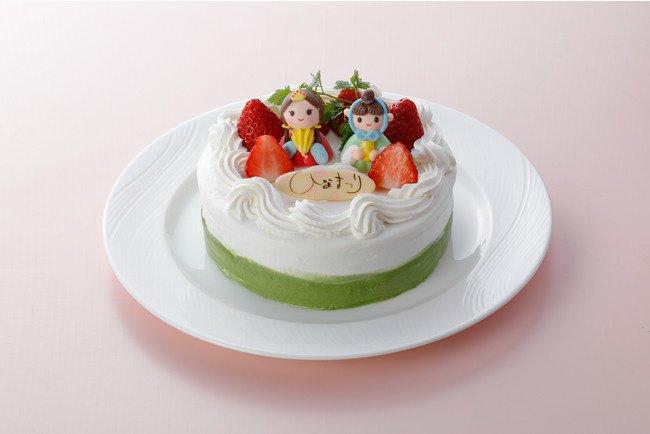 ウェスティン都ホテル京都のひな祭りケーキ