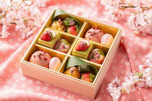 インターコンチネンタルホテル大阪のお花見スイーツボックス