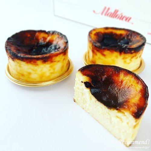 マヨルカのバスクチーズケーキ