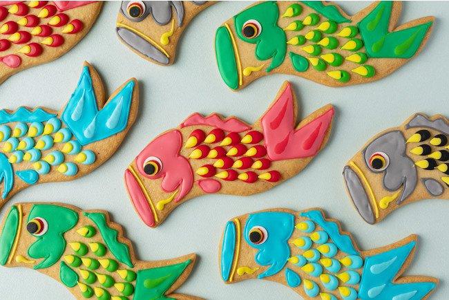 グランド ハイアット 東京のこいのぼりアイシングクッキー