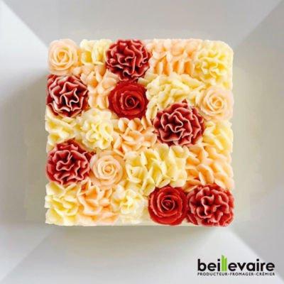 ベイユヴェールのお花のケーキ