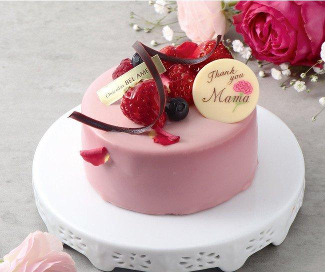 ベルアメールの母の日ケーキ