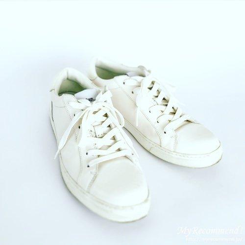 コーチの白スニーカー