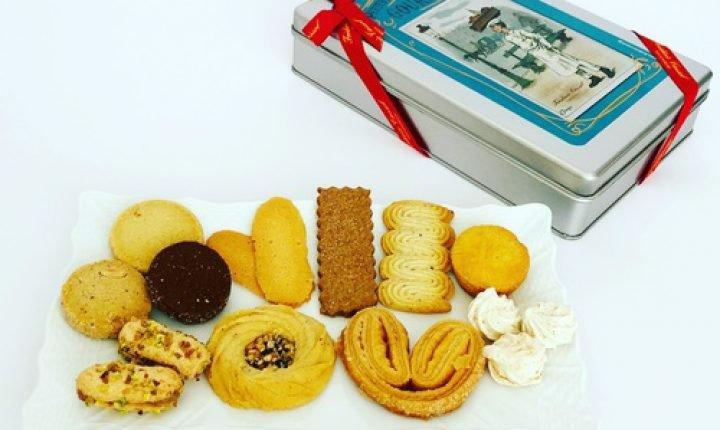 フレデリック・カッセルのクッキー缶!巨匠ならではの味わい