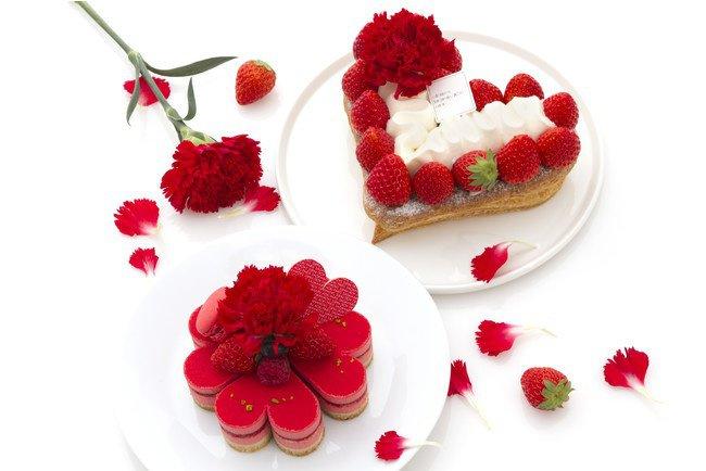 人気パティスリーの母の日限定ケーキ