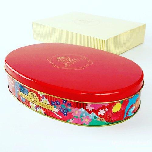 サブレミシェルのヴォヤージュサブレ オーバル缶