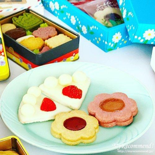 サブレミシェルのケーキサブレとフルール サンドサブレ