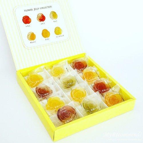 彩果の宝石のフラワーゼリーコレクション