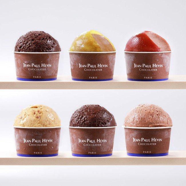 ジャン=ポール・エヴァンのアイス