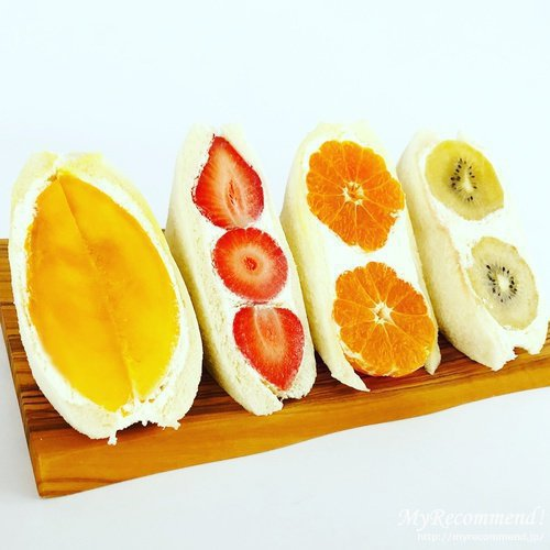 ダイワのフルーツサンド