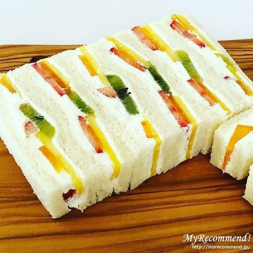 千疋屋総本店のフルーツサンドイッチ