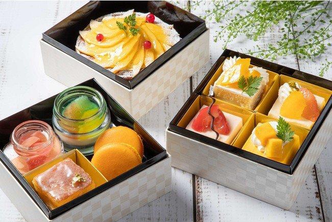 渋谷エクセルホテル東急のお菓子の重箱