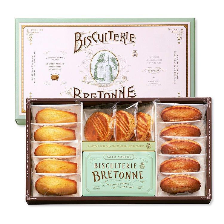 ビスキュイテリエ ブルトンヌのブルターニュ クッキー・ガトーアソート