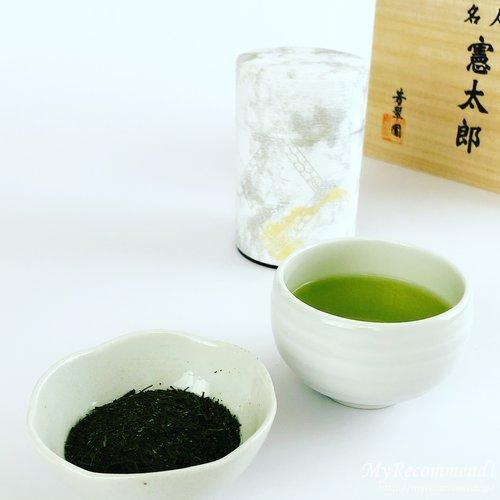 芳翠園の名人憲太郎 煎茶・ほうじ茶セット