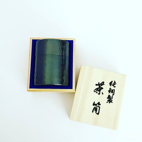 上林春松銘茶,茶筒入り煎茶