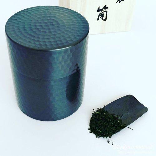 上林春松銘茶の銅製の茶匙
